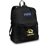 Mizzou JanSport Tiger Head Black Backpack