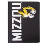 Mizzou Tiger Head Vinyl Black Pad Holder