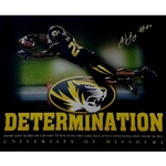 Autographed Henry Josey Determination Print