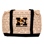 Missouri Tiger Head Fight Song Insulated Cooler Tote