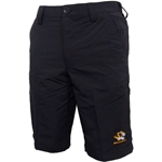 Mizzou Under Armour Men's Tiger Head Black Golf Shorts