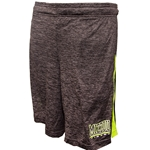Mizzou Tigers Under Armour Hyper Green Inset Black Basketball Shorts