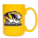 Missouri Tiger Head Yellow Mug