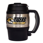 Missouri Tigers Black Thermal Mug