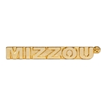 Mizzou Gold Lapel Pin