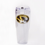 Mizzou Oval Tiger Head Insulated Jumbo Tumbler