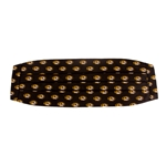 Mizzou Oval Tiger Head Black Cummerbund