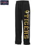 University of Missouri Tigers JanSport Black Vertical Print Open Bottom Sweatpants