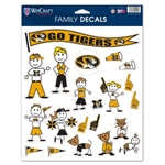 Decal Family Pack Go Tigers!
