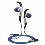 Sennheiser Adidas Black & Blue CX685 Sport In-Ear Headphones