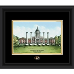 University of Columbia Jesse Hall & Columns Framed Print