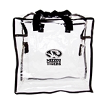 Mizzou Tigers Clear Tote Bag
