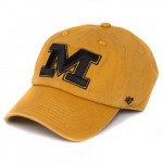 Mizzou Block M Old Gold Adjustable Hat