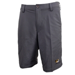 Mizzou Under Armour Tiger Head Loose Charcoal Golf Shorts