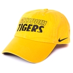 Missouri Tigers Nike Gold Adjustable Hat
