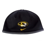 Mizzou Nike Therma-Fit Oval Tiger Head Black Reversible Beanie