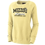 Mizzou Tigers JanSport Women's Gold Crew Neck Sweatshirt