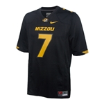 Mizzou Nike #7 Black 2014 Football Jersey