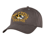 Mizzou Tigers SEC Charcoal Adjustable Hat