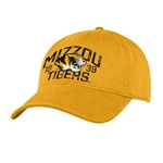 Mizzou Tigers SEC Gold Adjustable Hat