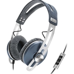 Sennheiser Blue Momentum On-Ear Headphones