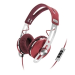 Sennheiser Red Momentum On-Ear Headphones