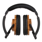 Sonix Roots Bamboo Eco-Friendly On-Ear Headphones