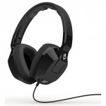 Black Skullcandy Crusher Over Ear Headphone with In-Line Mic