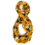 Mizzou Tiger Head Gold Infinity Scarf