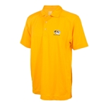 Mizzou Cutter & Buck Tiger Head Gold Polo