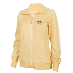 Mizzou Cutter & Buck Women's Tiger Head Gold Full Zip Sweatshirt