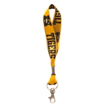 Mizzou Tigers Black & Gold Key Strap Lanyard