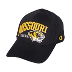 Missouri Tigers Black Stretch-Fit Hat