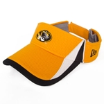 Mizzou New Era Oval Tiger Head Gold Visor