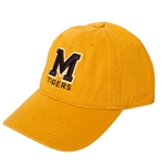 Mizzou Block M Gold Hat