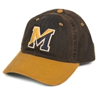 Mizzou Block M Black & Gold Hat