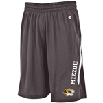 Mizzou Tiger Head Grey Shorts