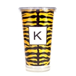 Mizzou Paparté Black & Gold Personalized Tumbler with Straw