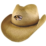 Mizzou Tiger Head Cowboy Hat