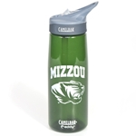 Mizzou CamelBak Tiger Head Dark Green Water Bottle