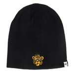 Mizzou Retro Tiger Head Black Beanie