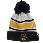 Missouri Tigers Grey Striped Beanie