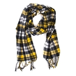 Mizzou Tigers Plaid Flannel Scarf