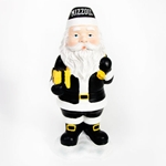 Mizzou Black & Gold Santa Figurine