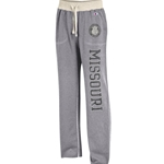 Missouri Official Seal Grey Open Bottom Sweatpants