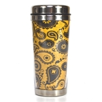 Mizzou Gold Official Paisley Stainless Steel Tumbler
