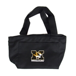 Missouri Tiger Head Black Cooler