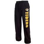 Mizzou Tigers Pennant Textured Black Pants