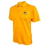Mizzou Under Armour Tiger Head Gold Polo