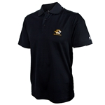 Mizzou Under Armour Tiger Head Black Polo